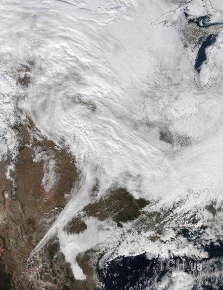 Сніг у США, шторм, сніговий шторм_2