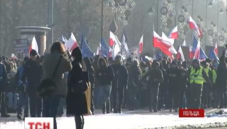 Польщу сколихнула нова хвиля антиурядових протестів