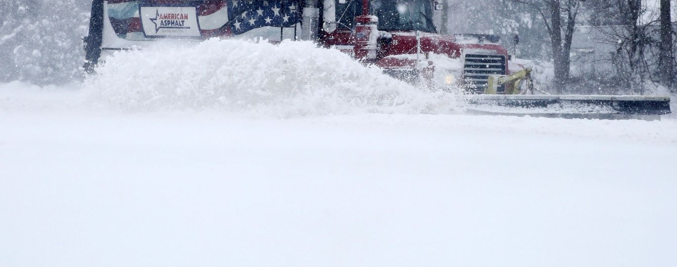 """Збитки від """"снігового армагедону"""" у США оцінили в 3 мільярди доларів"""