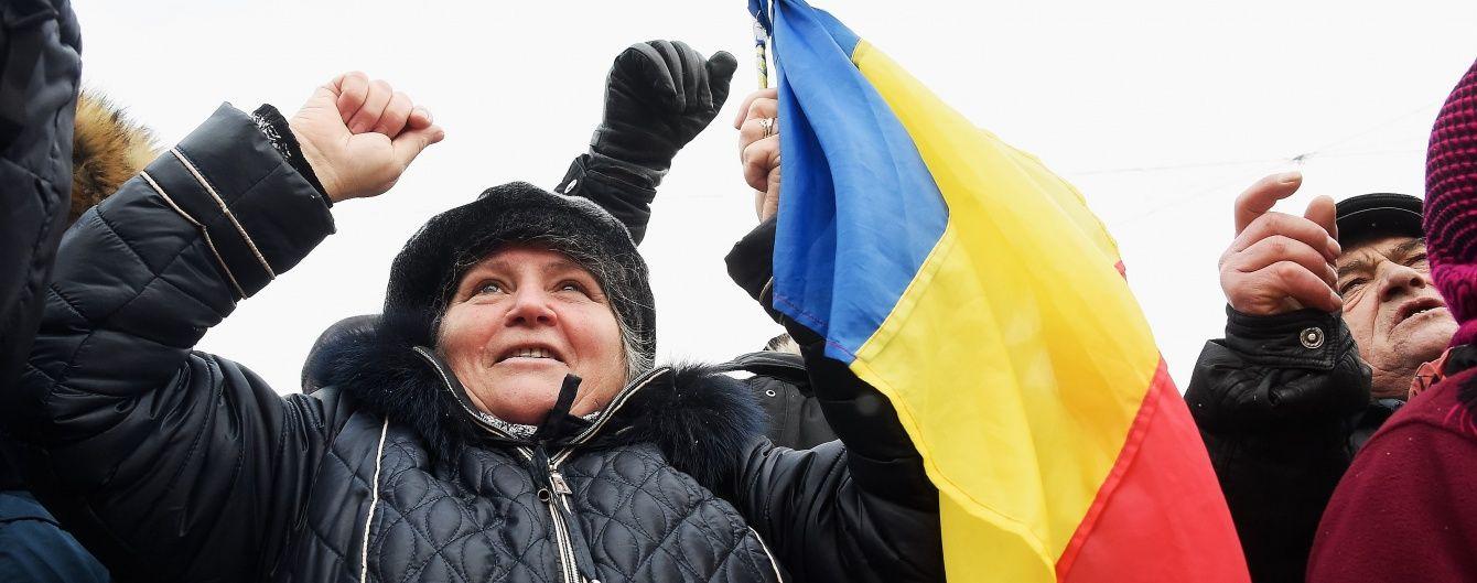 У Молдові люди збираються на масові антиурядові протести