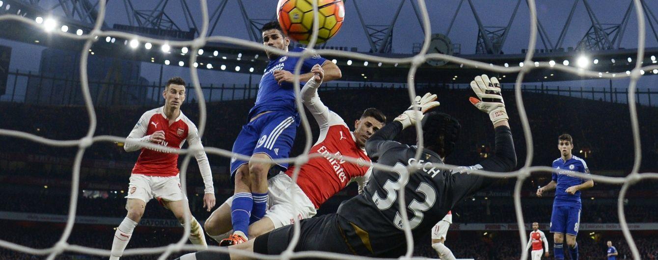 """""""Арсенал"""" у меншості не зміг набрати очки в лондонському дербі з """"Челсі"""""""