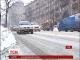 Столицю України засипає снігом