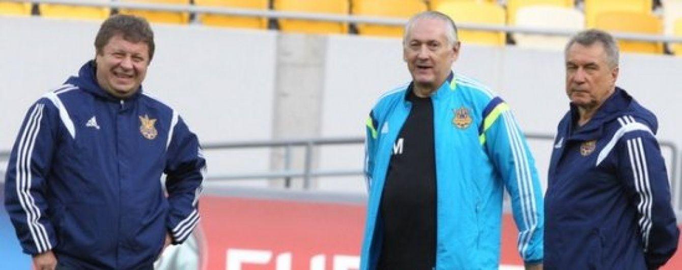 Тренерів збірної України з футболу назвуть у лютому