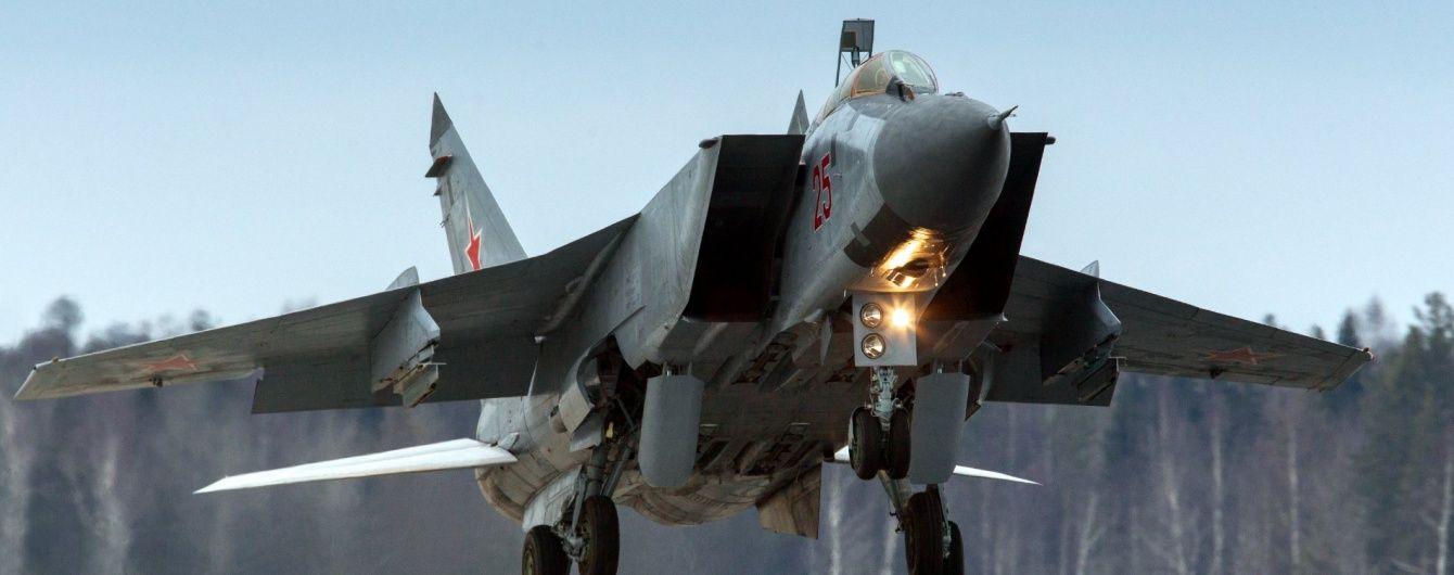 Винищувачі НАТО вилетіли на перехоплення трьох літаків РФ біля Естонії