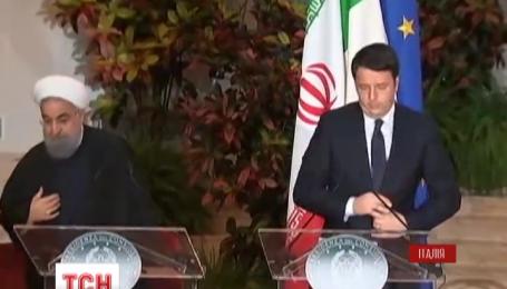 Президент Ірану підписав з Італією угоди на 17 мільярдів доларів