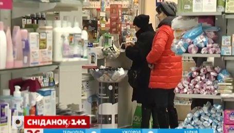 Продаж противірусних препаратів за останній тиждень збільшився на 50 відсотків