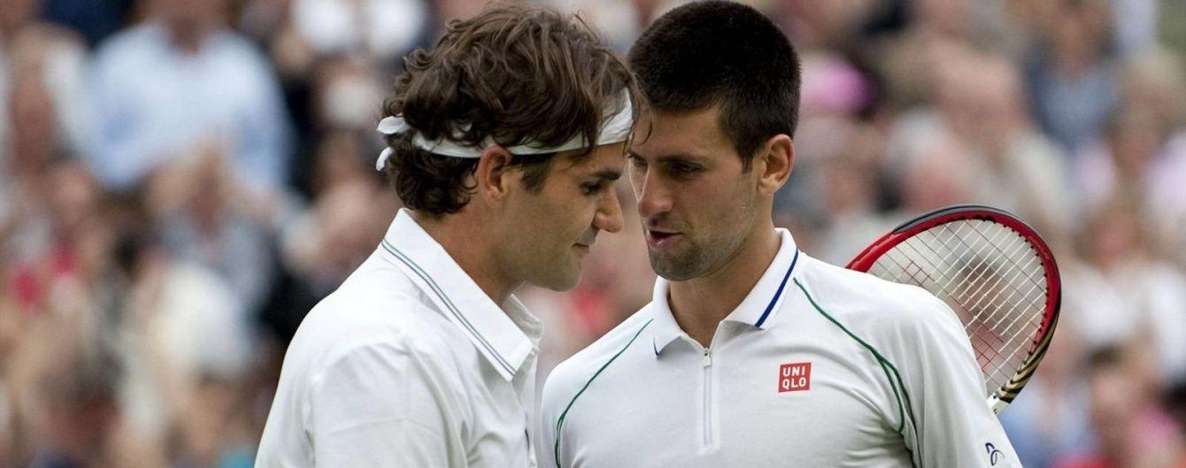 """Тенісне """"Класіко"""": Федерер та Джокович битимуться за """"корону"""" Australian Open"""