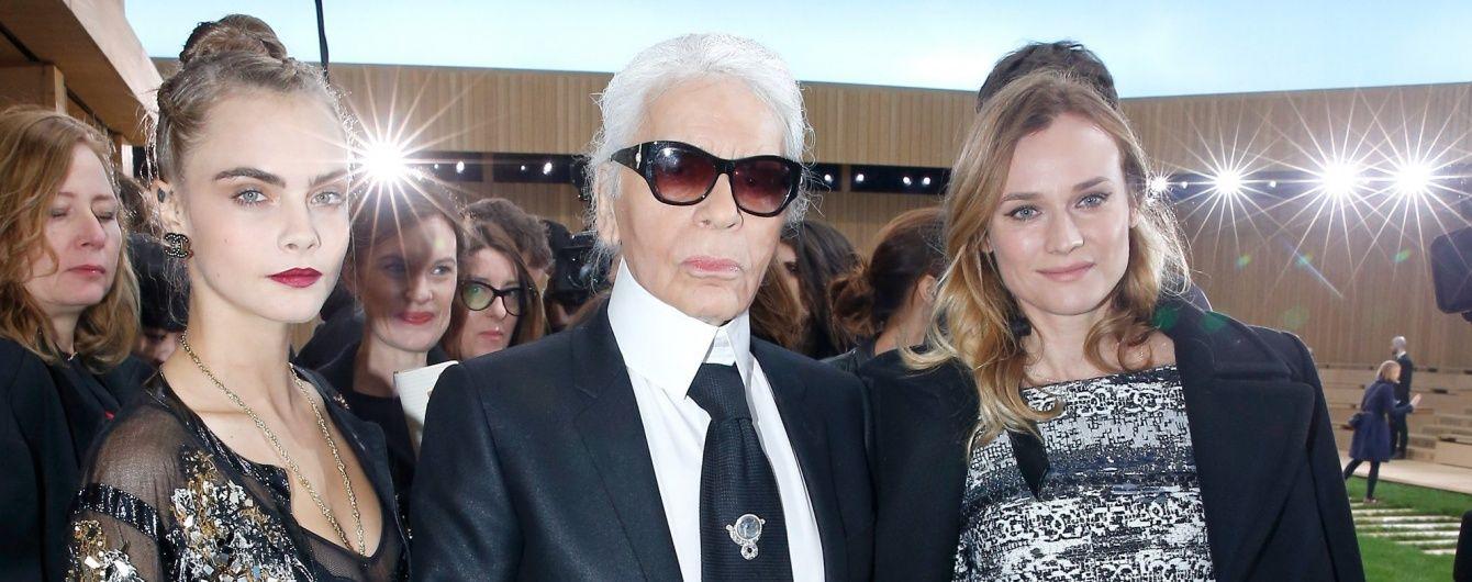 Знаменитости на показе Chanel Haute Couture в Париже