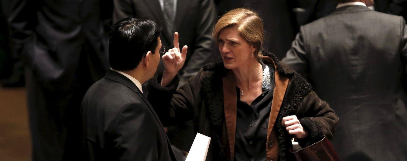 Пауэр назвала Россию циничной через ее нежелание расследовать преступления режима Асада