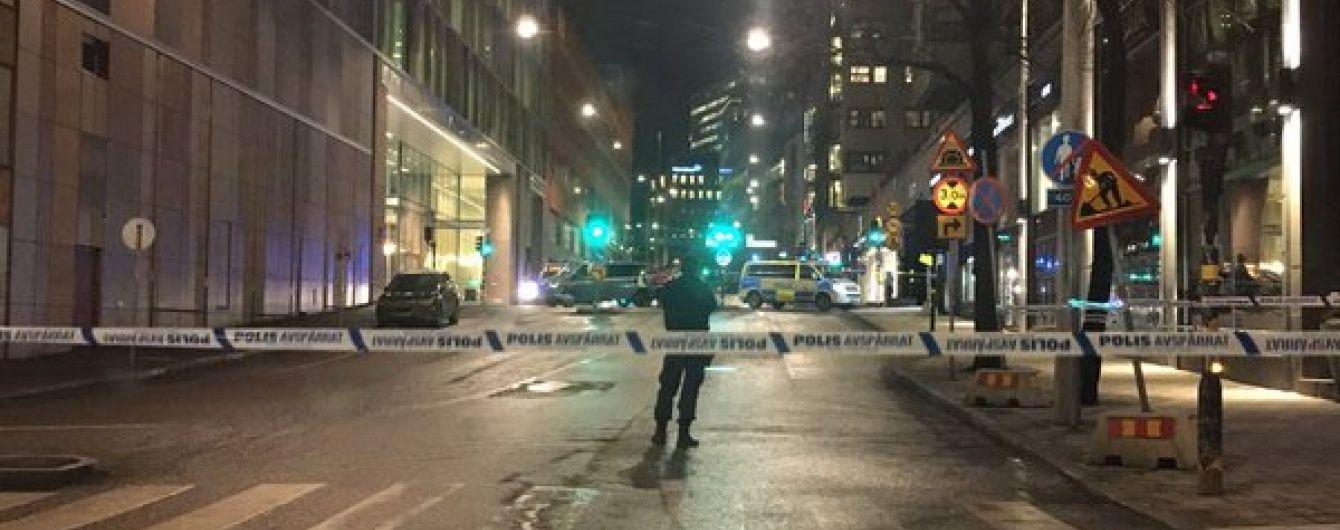 У Стокгольмі в торговому центрі прогримів вибух