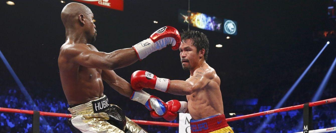 Зірковий промоутер закликав Мейвезера повернутися в бокс заради реваншу з Пакьяо