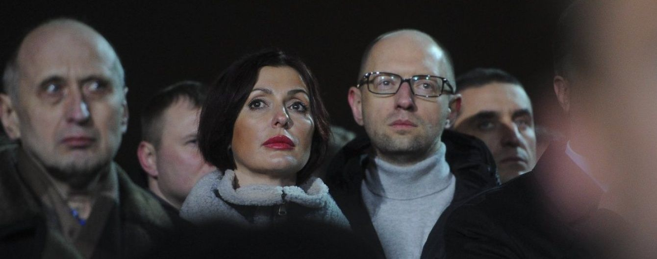 Поліція Києва оштрафувала дружину Яценюка – ЗМІ