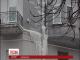 Гігантська бурулька лякає перехожих в центрі столиці