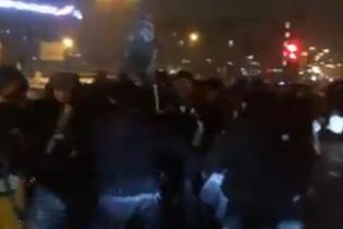 У Москві розлючені валютні позичальники перекрили вулицю