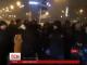 Напередодні ввечері кілька десятків людей перекрили головну вулицю Москви