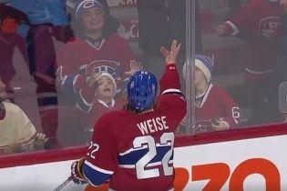 Юний вболівальник клубу НХЛ підірвав Мережу неймовірно щирими емоціями