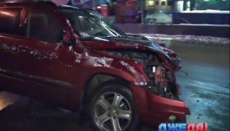 Женщина на дорогом автомобиле спровоцировала ужасную аварию в столице