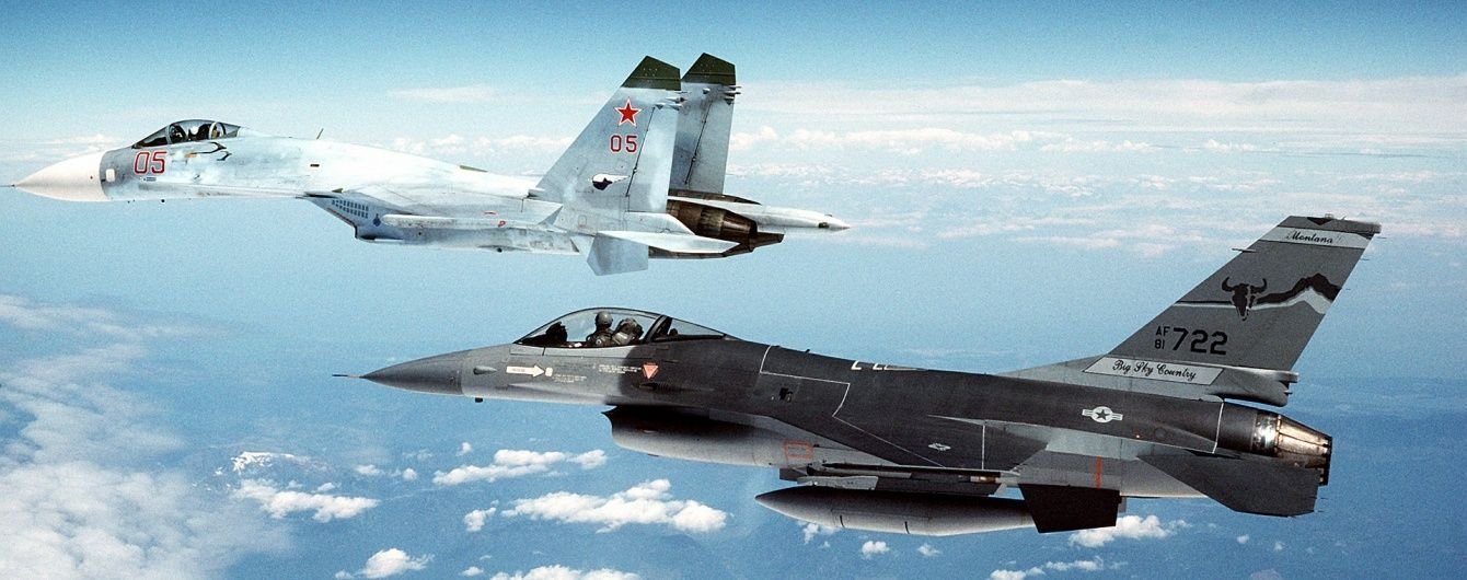 У НАТО пояснили супровід винищувачами літака Шойгу