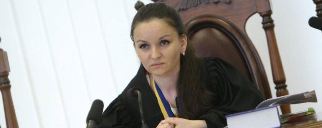 Скандальну суддю Печерського суду Царевич усунули від роботи