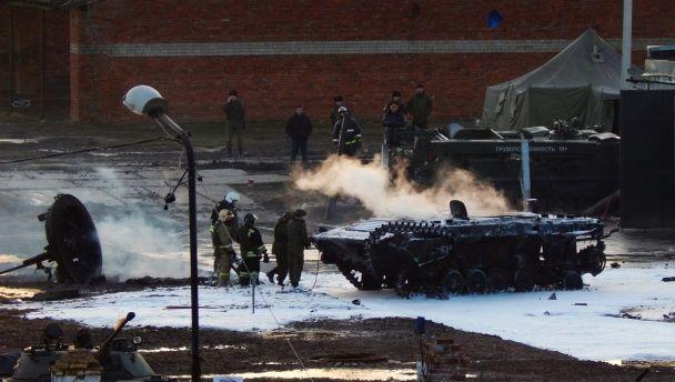 У Росії на території військової частини пролунали вибухи