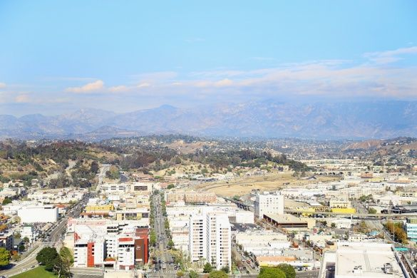 Лос-Анджелес з висоти пташиного польоту_2