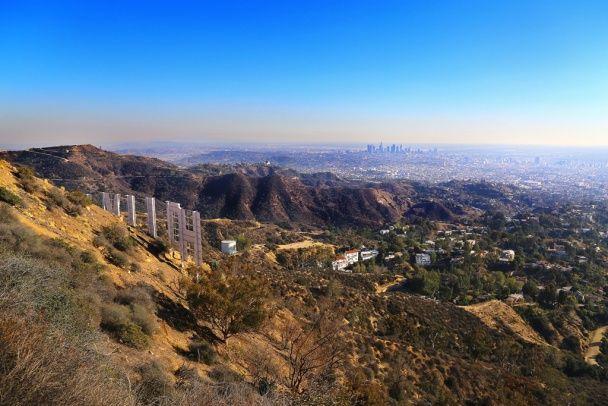 Лос-Анджелес з висоти пташиного польоту