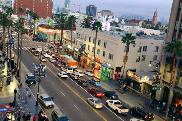 Лос-Анджелес з висоти пташиного польоту_13