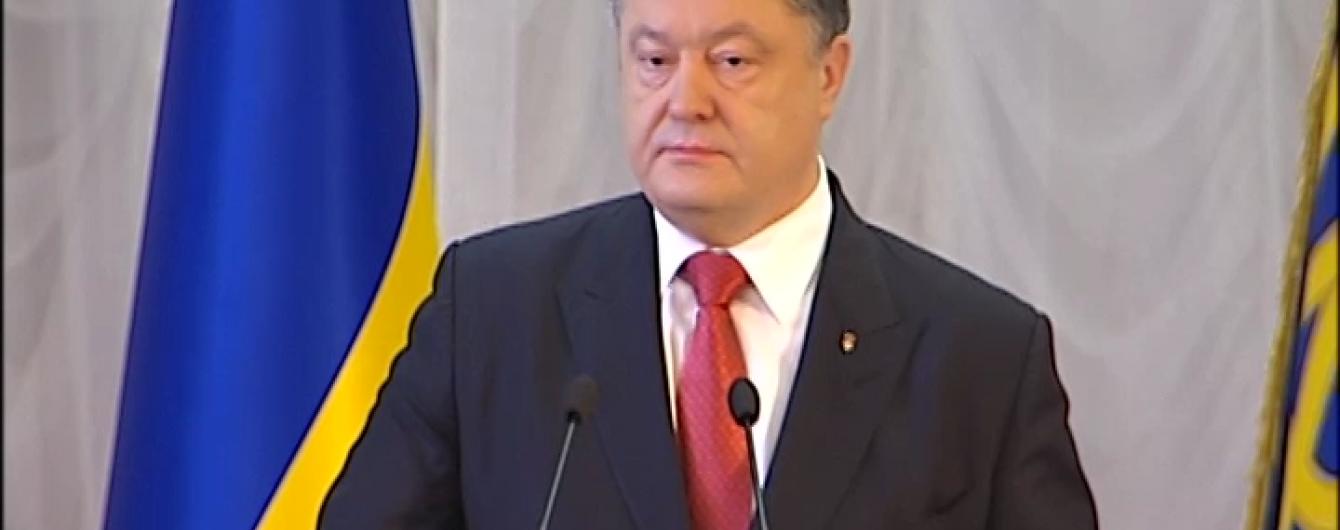 Порошенко підрахував кількість учасників бойових дій АТО в Україні