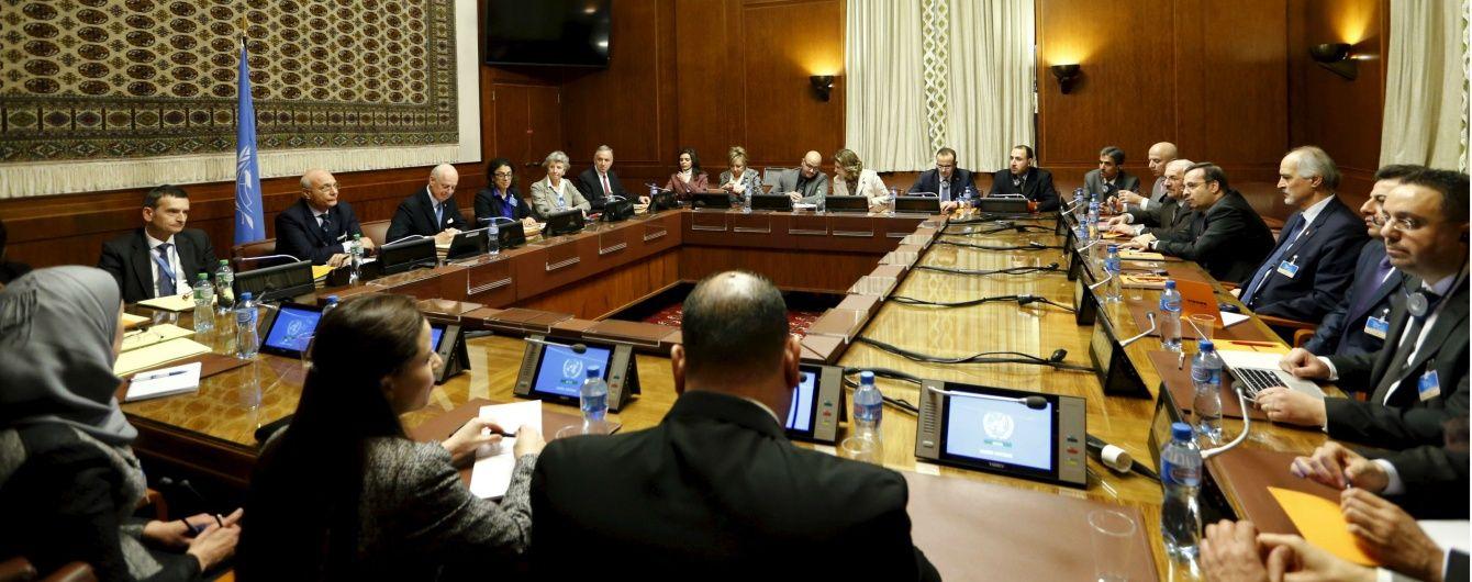 Учасники переговорів щодо Сирії домовилися про перемир'я