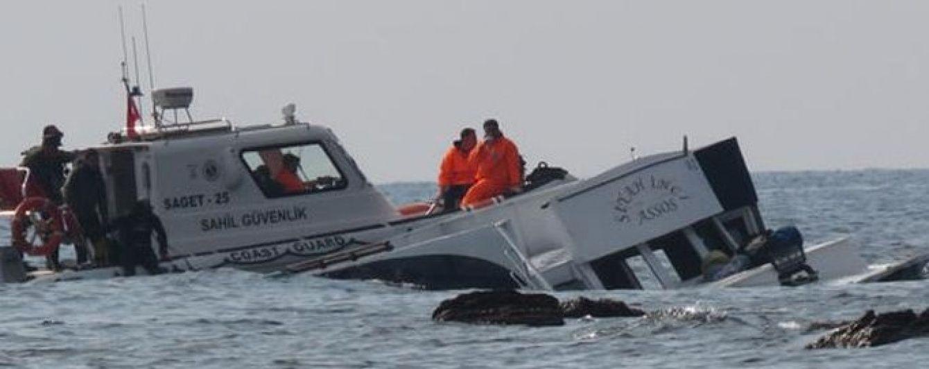 Біля берегів Туреччини затонув човен з мігрантами, є десятки жертв