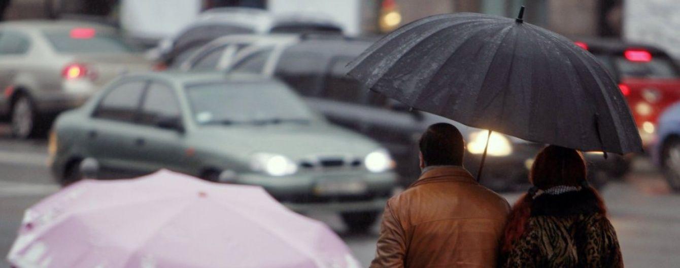 Перший день лютого приніс українцям штормовий вітер та рясні опади
