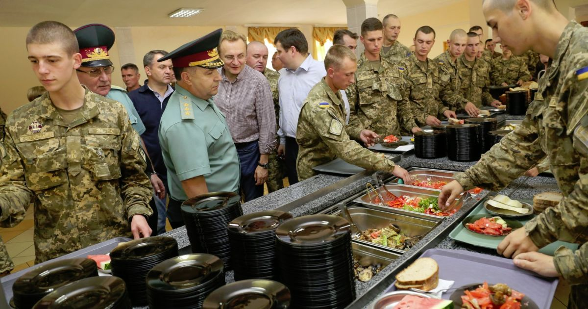 Украинскую армию будут кормить по-новому