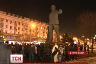 """У Дніпропетровську замість поваленого комуніста може з'явитися пам'ятник """"кіборгам"""" АТО"""