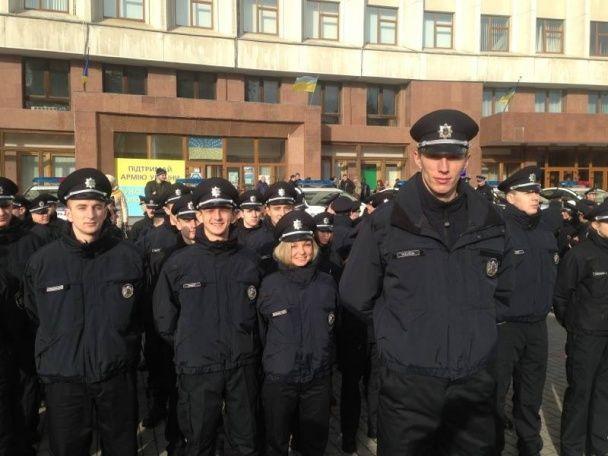 Патрульних Івано-Франківська очолив найвищий поліцейський України