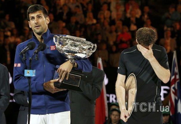Як Джокович познущався над Марреєм у фіналі Australian Open