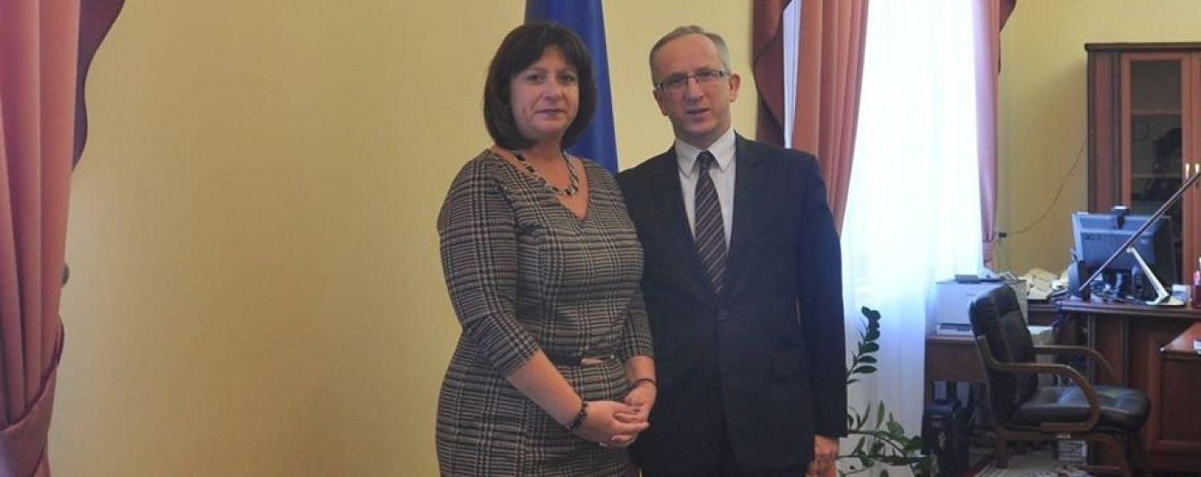 Яресько обговорила з Томбінським умови отримання Україною 600 млн євро від ЄС