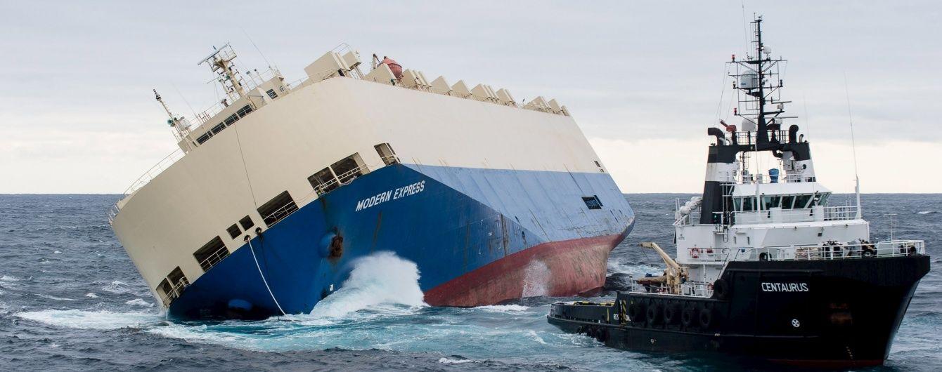 Рятувальники впіймали некерований танкер біля берегів Франції