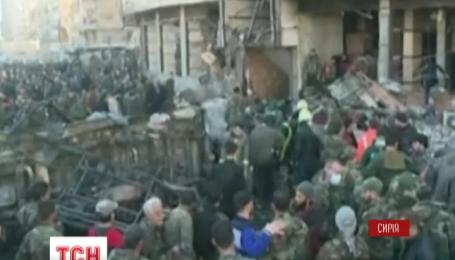 В Сирии произошел тройной теракт