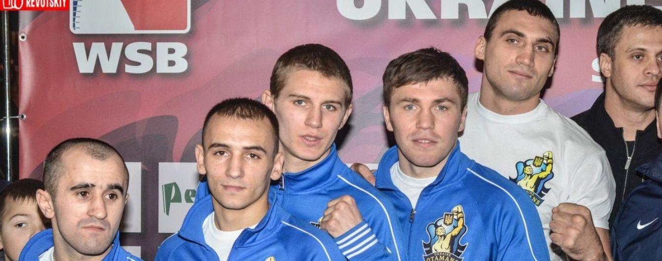 """Результати матчів """"Українських отаманів"""" у Всесвітній серії боксу-2016"""