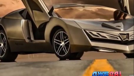 На Катарском автошоу представили авто из карбона