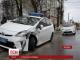 У Житомирі сталася аварія з поліцейським авто
