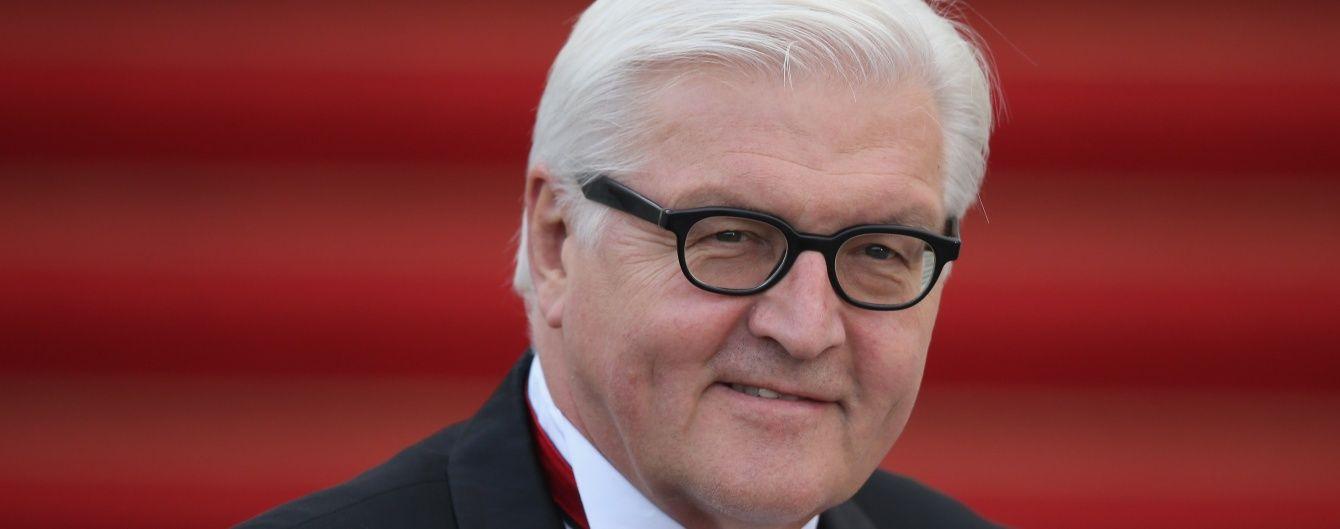 Штайнмайєр наголосив, що Німеччина ніколи не визнає Крим територією РФ