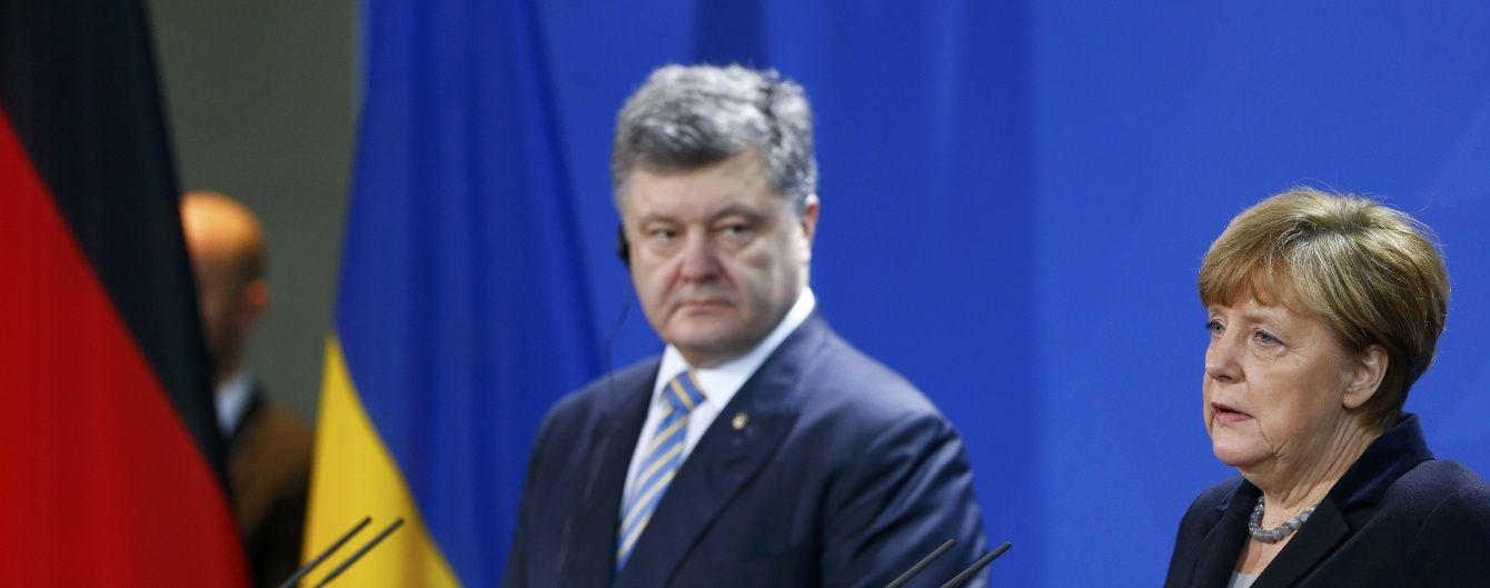 """""""Северный поток-2"""" и переговоры с Путиным. Порошенко и Меркель провели телефонный разговор"""