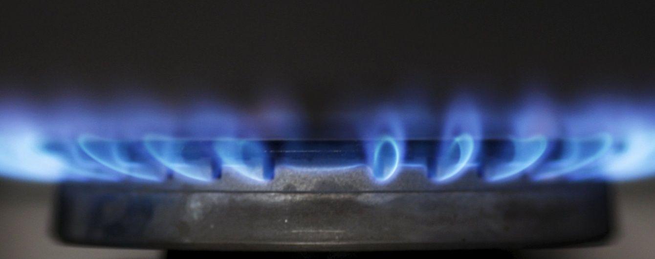 Україна скоротила споживання газу на третину. Інфографіка