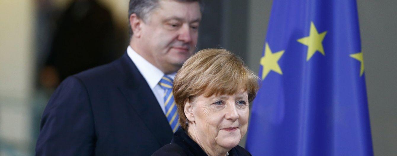 Зустріч Порошенка з Меркель та подробиці розкішного життя доньки Путіна. 5 головних новин дня