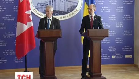 Украина и Канада должны в этом году подписать соглашение о зоне свободной торговли