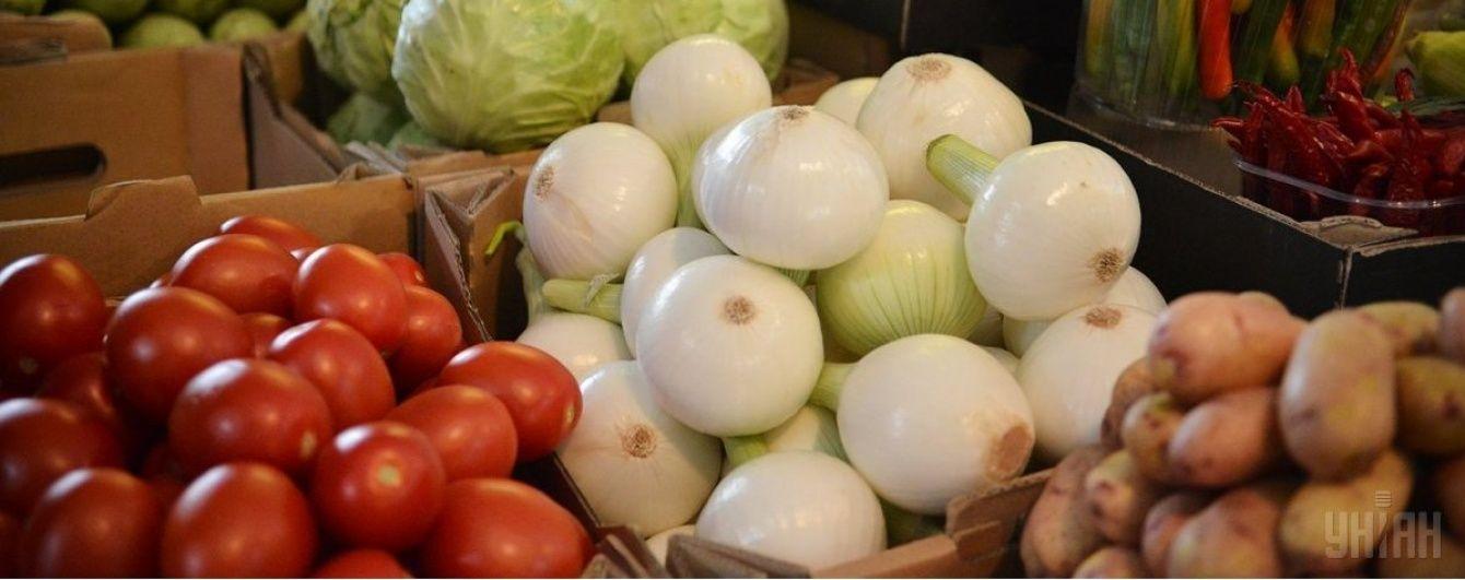 В Україні зросли ціни на овочі та фрукти