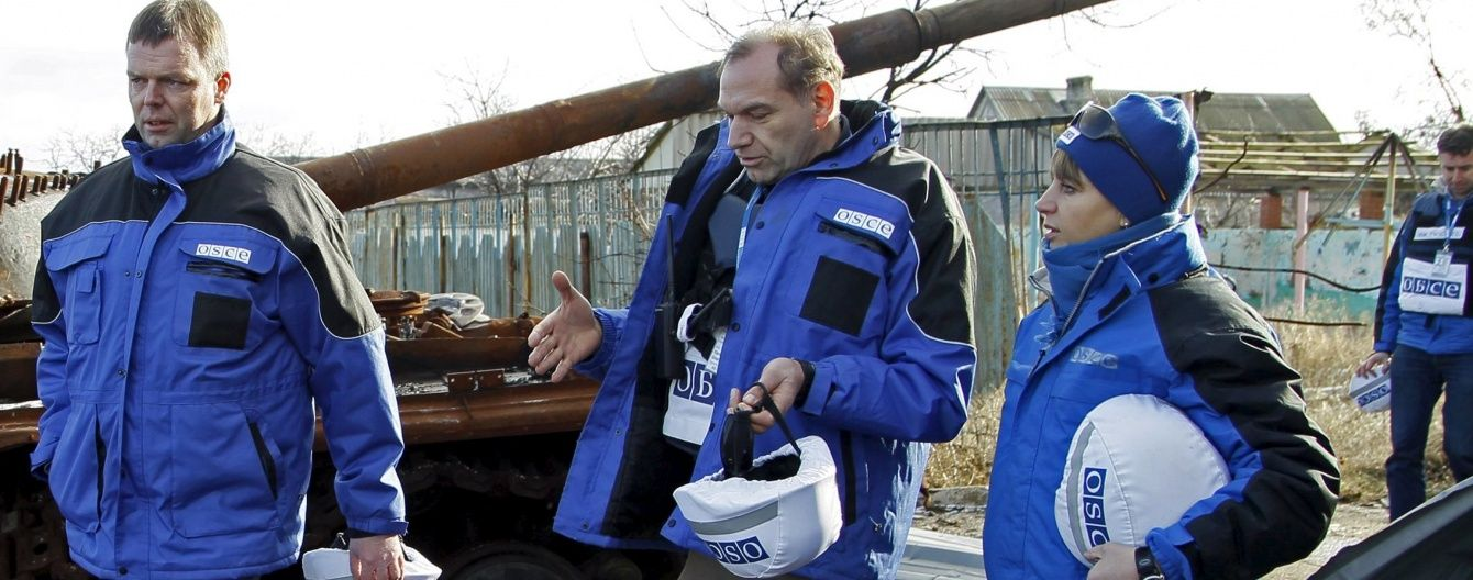 На Луганщині бойовики обстріляли безпілотник ОБСЄ