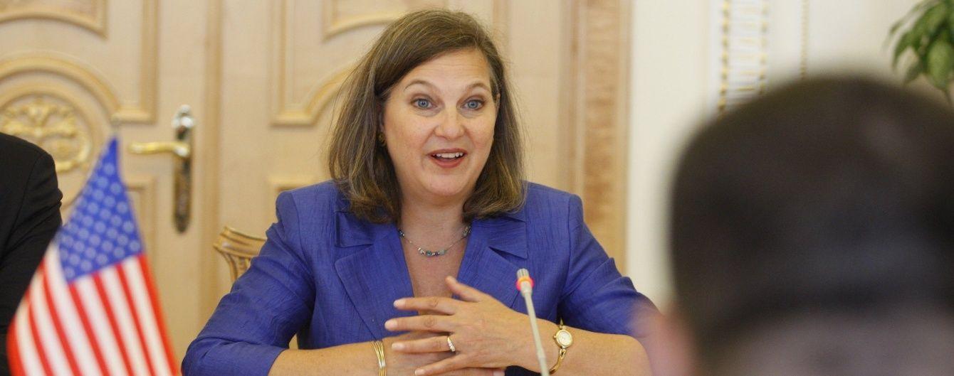 Нуланд не исключает введения новых санкций против РФ