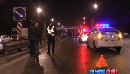 Масштабная авария произошла на въезде в столицу